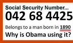 Obama Fake Social Security Number