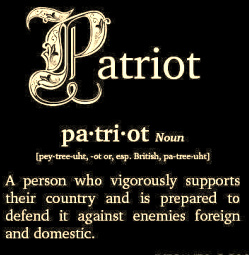 Patriot Definition