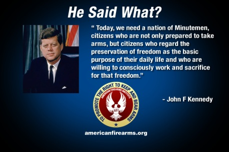 JFK Armed Citizenry
