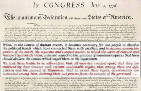 Declaration of Independence RealClearHistoryDotCom