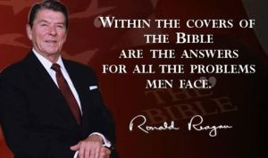 Ronald Reagan Bible Quote