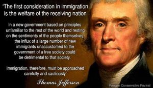 Thomas Jefferson on Immigration